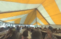 Portuguese meal under the marquee – 360-degree video